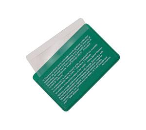 Credit Card Size Pocket Fresnel Lens
