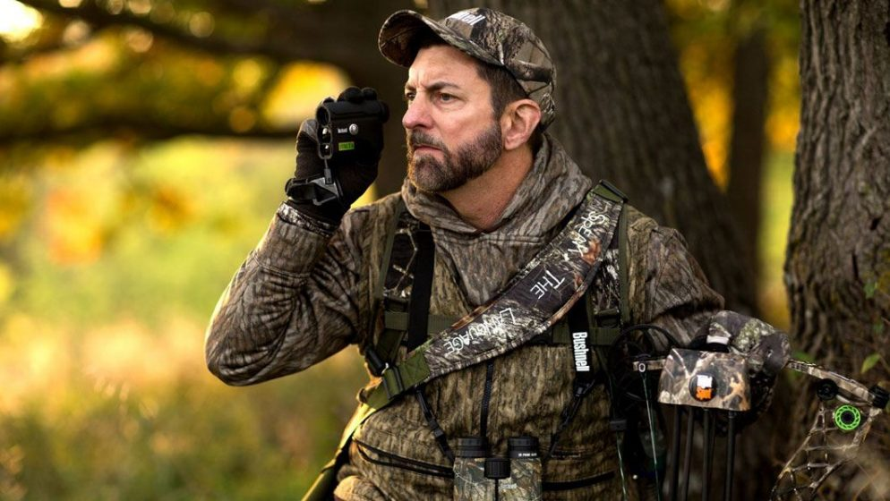 rangefinding in woods