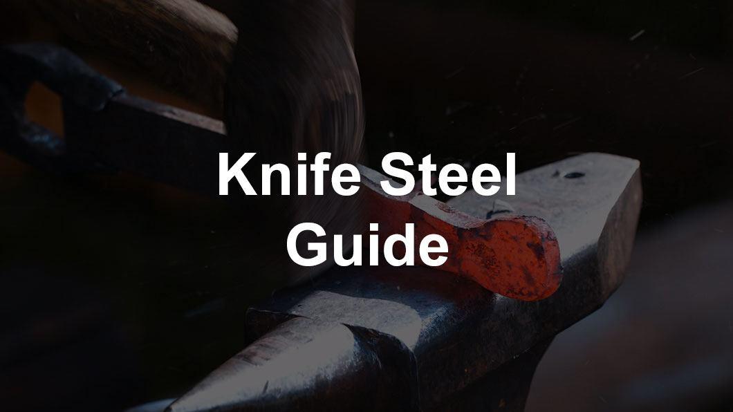blacksmith making knife