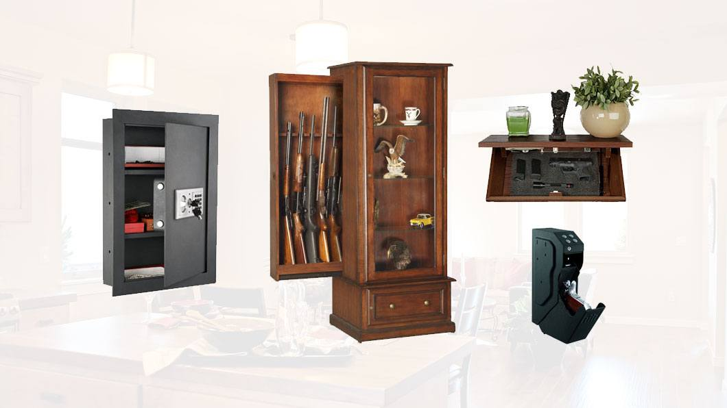 gun storage in home