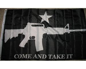 m4 come and take it flag