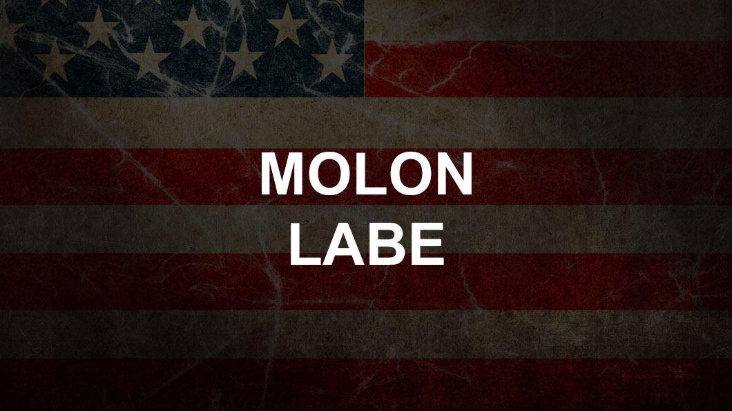 molon labe american flag
