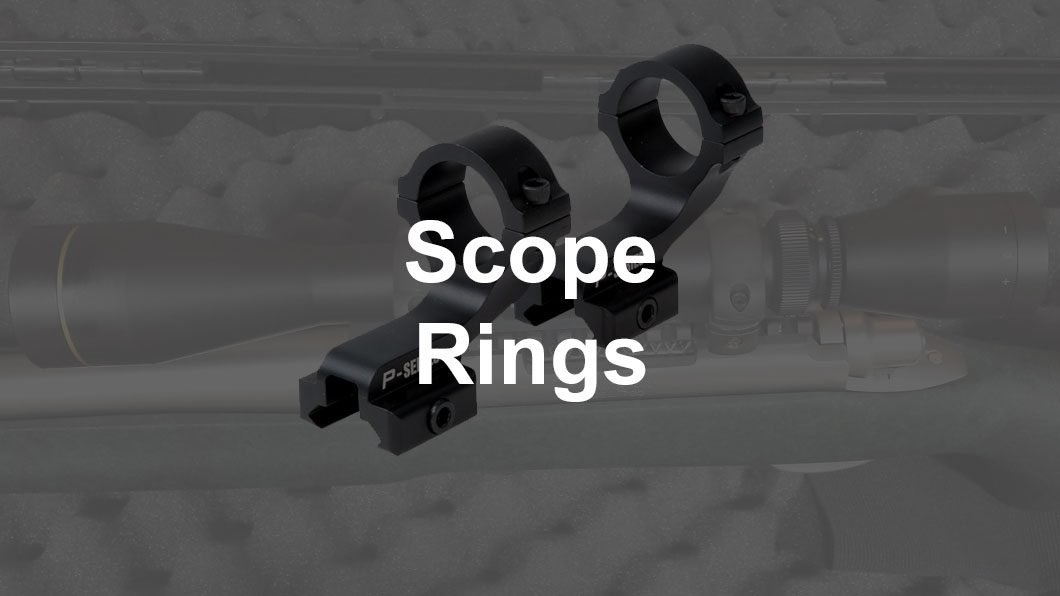 scope rings on rifle