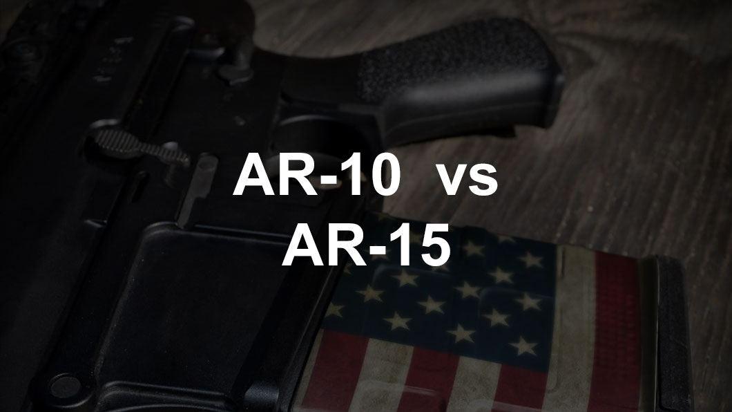 ar-10 on table