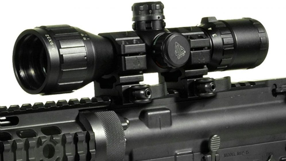ar 15 mounted scope
