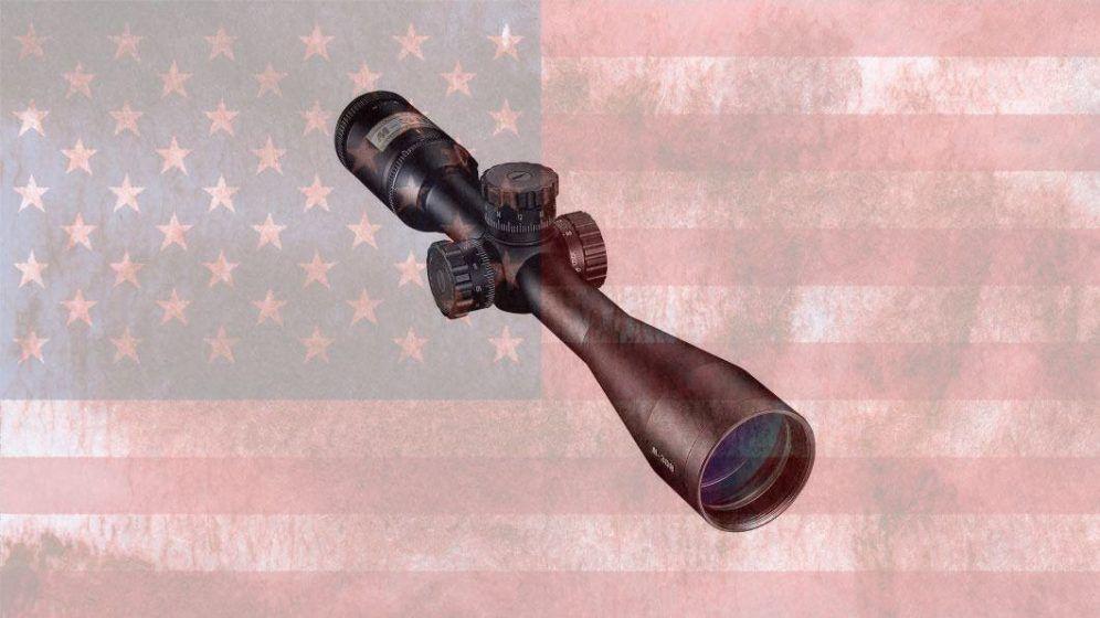 scope on flag