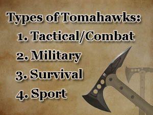 types of tomahawks