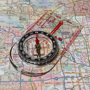 compass map navigation