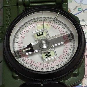 compass mark