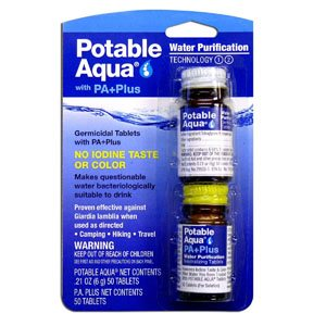 portable aqua with paplus water purification
