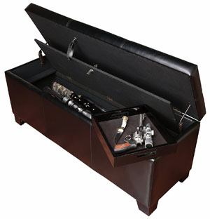 American Furniture Classics 502 Gun Concealment Storage Bench