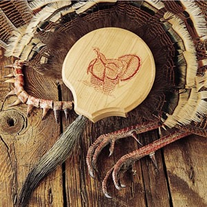 quaker boy turkey fan mount kit