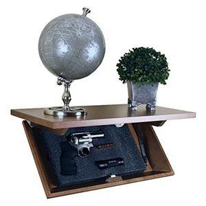 Hidden Gun Shelf