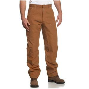 Carhartt Double Front Duck Utility Work Dungaree Pant