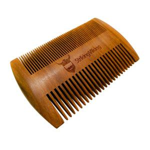 Striking Viking Wood Comb