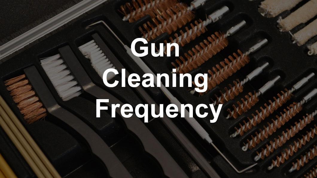 how often to clean a handgun
